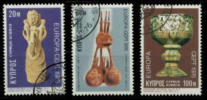 ZYPERN 1976 Nr 435-437 gestempelt 04AFCA
