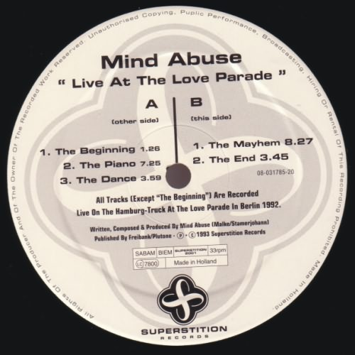 12inch - Mind Abuse Live At The Love Parade