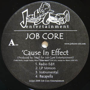 12inch - Job Core Cause in Effect