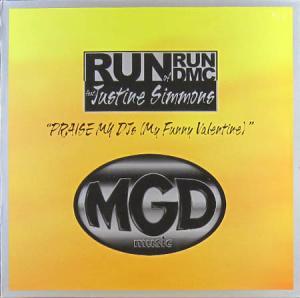 12inch - Run of Run DMC feat. Justine Simmons Praise My DJs - My Funny Valentine
