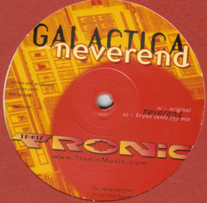 12inch - Galactica Neverend / Red Eyes Red Lights