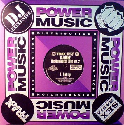 12inch - DJ Duke Unreleased Dubs Vol. 2