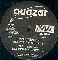 12inch - Quazar Deeper & Higher