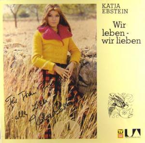 LP - Ebstein, Katja Wir leben - Wir lieben