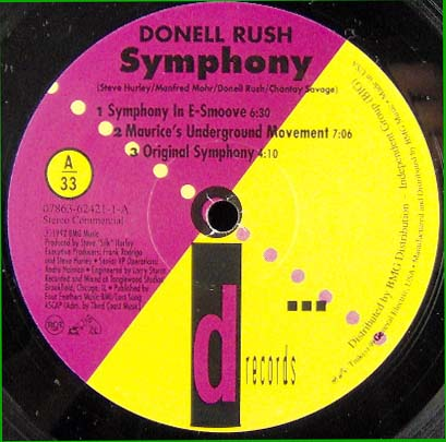 12inch - Rush, Donell Symphony