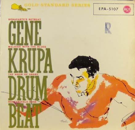 7inch - Krupa, Gene Drum Beat