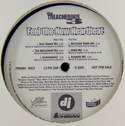 12inch - Treacherous Three, The Feel The New Heartbeat