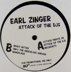 12inch - Earl Zinger Attack Of The DJs