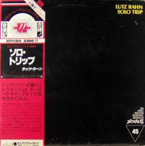 LP - Rahn, Lutz Solo Trip