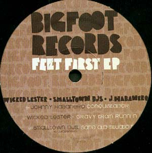 12inch - Various Artists Feet First EP