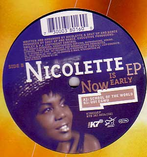 12inch - Nicolette Now Is Early EP