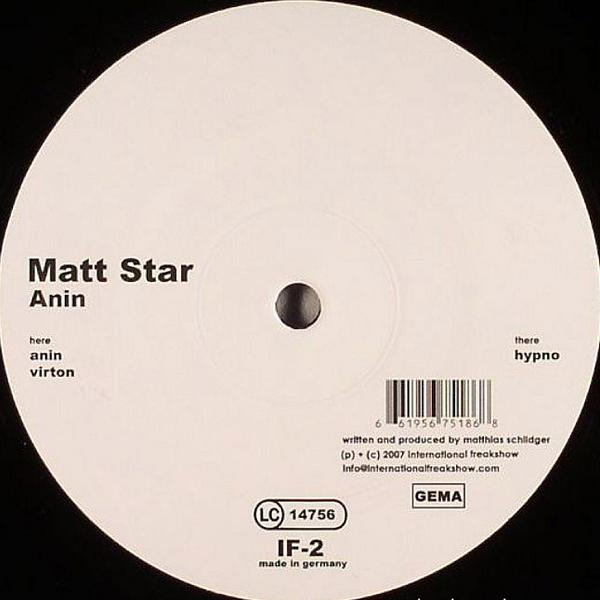 12inch - Matt Star Anin / Virton / Hypno