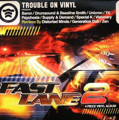4LP - Various Artists Fast Lane Volume 2