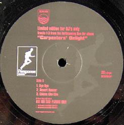 12inch - Don Air Carpenters' Delight - DJ Promo