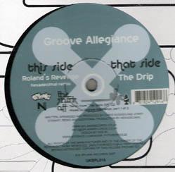 12inch - Groove Allegiance The Shirk Off - Vinyl Sampler 1