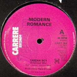 12inch - Modern Romance Tarzan Boy - Extended Mix / Sail Away