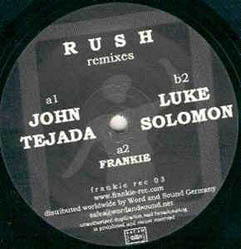 12inch - Frankie Rush - Remixes