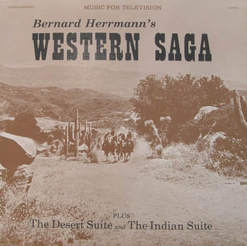 LP - Herrmann, Bernard Western Saga - Music For Television Series