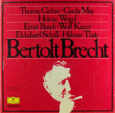 7LP - Therese Giehse, Gisela May, Helene Weigel a.o. Bertolt Brecht
