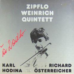LP - Zipflo Weinrich Quartett A Dadlo