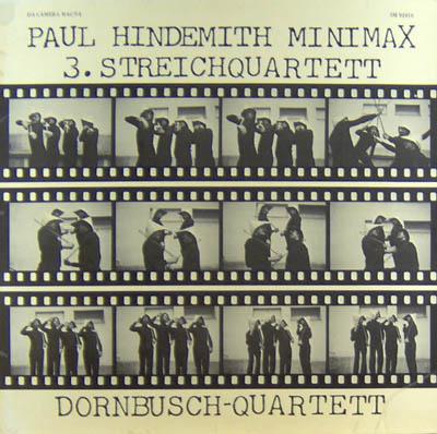 LP - Dornbusch-Quartett Minimax / 3. Streichquartett