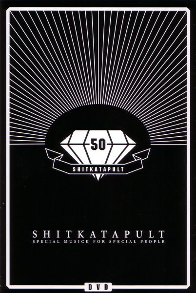 DVD - Various Artists Shitkatapult 50 - Special Musick For Special People