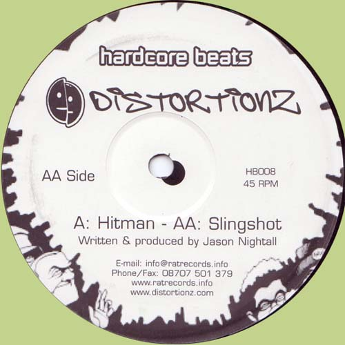 12inch - Distortionz Hitman / Slingshot