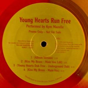 12inch - Mazelle, Kym Young Hearts Run Free