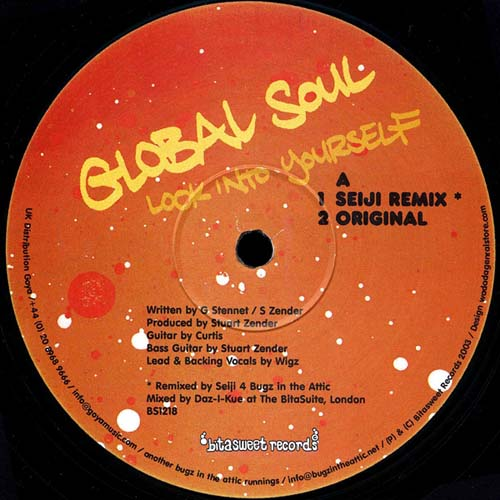 12inch - Global Soul Look Into Yourself