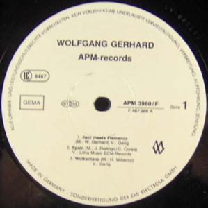 LP - Gerhard, Wolfgang Jazz Meets Flamenco
