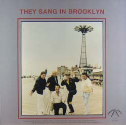 LP - Various Artists They Sang In Brooklyn