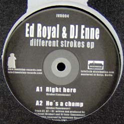 12inch - Ed Royal & DJ Enne Different Strokes EP