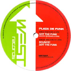 12inch - Plaza De Funk Got The Funk