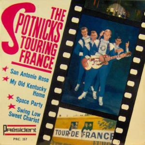 7inch - Spotnicks, The Touring France