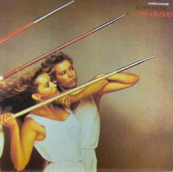LP - Roxy Music Flesh + Blood