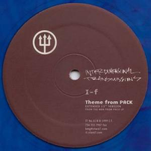 12inch - I-F Theme From PACK - LTD blue