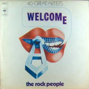 3LP - Various Artists Welcome The Rock People
