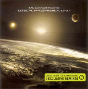 CD - MC Conrad Logical Progression Level 4 - Promo - 9 exclusive remixes