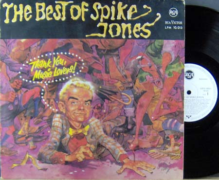 LP - Spike Jones And His City Slickers The Best Of Spike Jones