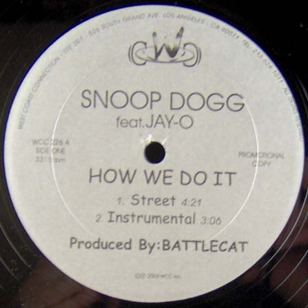 12inch - Snoop Doggy Dogg How We Do It / Lay Low