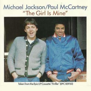 7inch - Jackson, Michael & Paul McCartney The Girl Is Mine