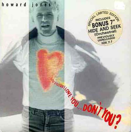 2x7inch - Jones, Howard You Know I Love You ... Don't You?