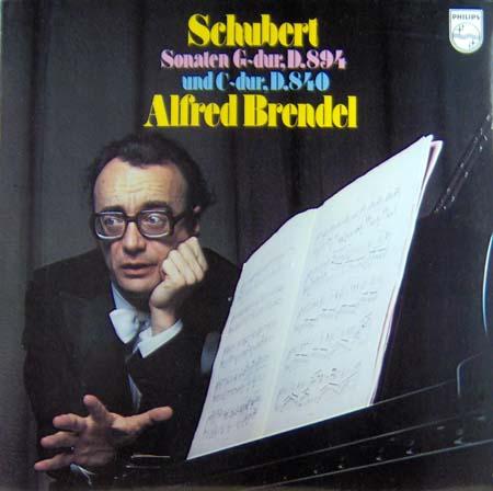 LP - Brendel, Alfred Schubert Sonaten G-Dur
