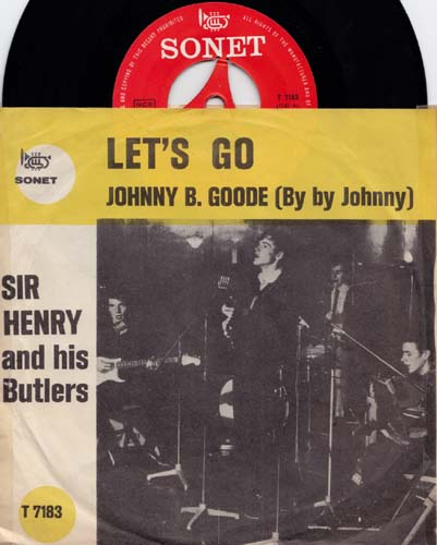 7inch - Sir Henry And His Butlers Let's Go / Johnny B. Goode 0