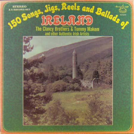 5LP - Various Artists 150 Songs, Jigs, Reels And Ballads Of Ireland