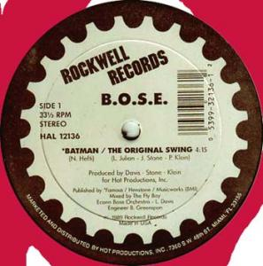 12inch - Bose Batman / The Original Swing