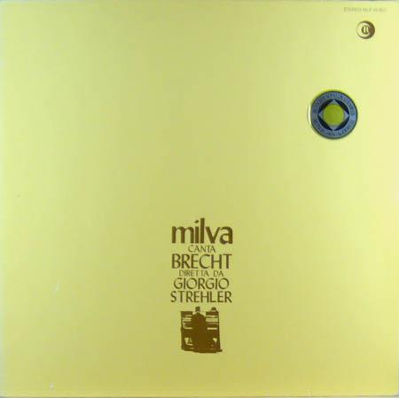 LP - Milva Milva Canta Brecht
