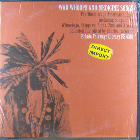 LP - Various Artists War Whoops And Medicine Songs