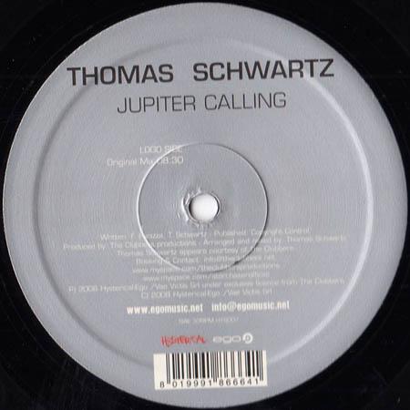 12inch - Schwartz, Thomas Jupiter Calling
