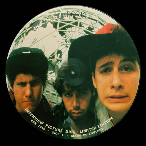 12inch - Beastie Boys Limited Edition Interview Picture Disc